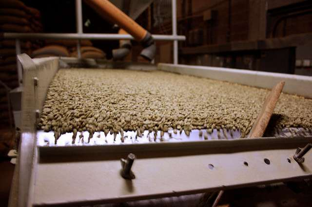 Milling of Coffee
