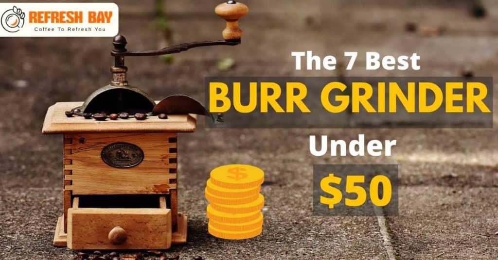 BEST BURR GRINDER UNDER $50